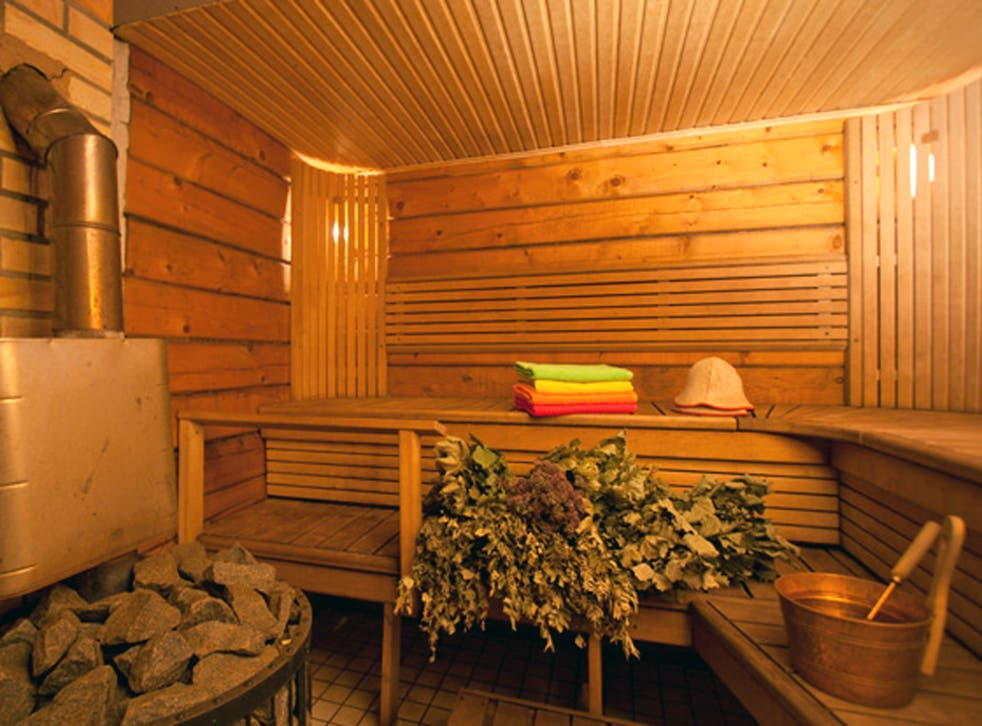 Heart rate tends to rise up to 120 to 150 beats per minute for sauna bathers, as it does during exercise