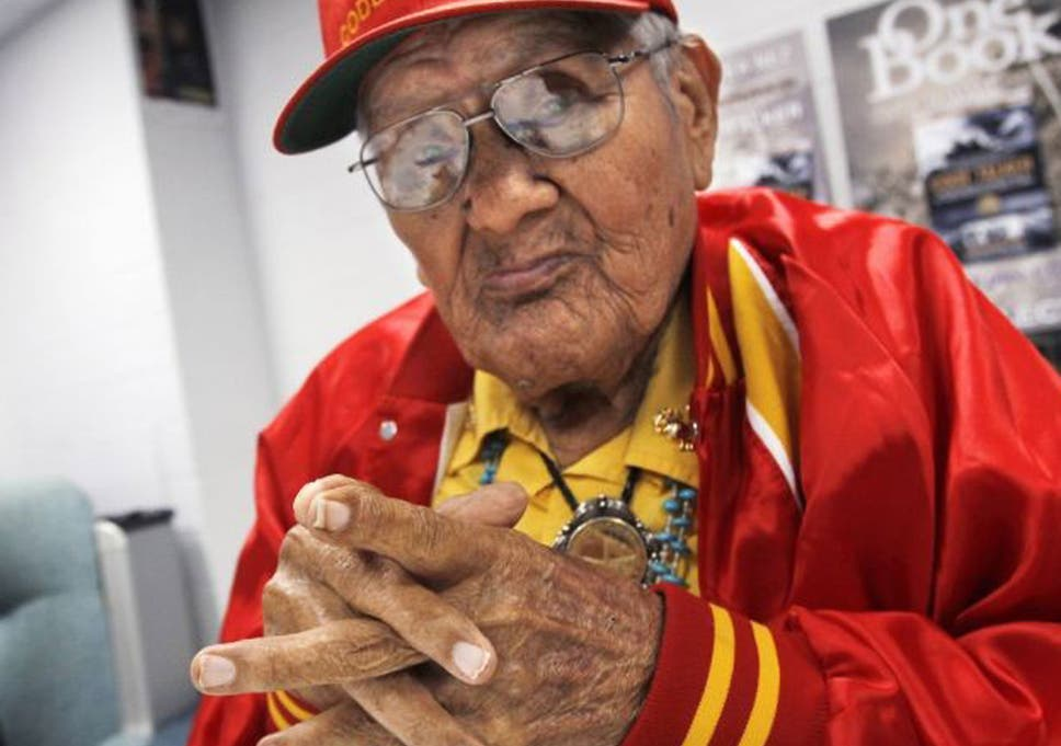 chester nez last of navajo code talkers dies aged 93 the independent