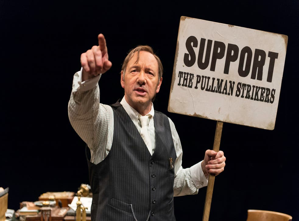 Kevin Spacey plays civil rights lawyer Clarence Darrow at the Old Vic