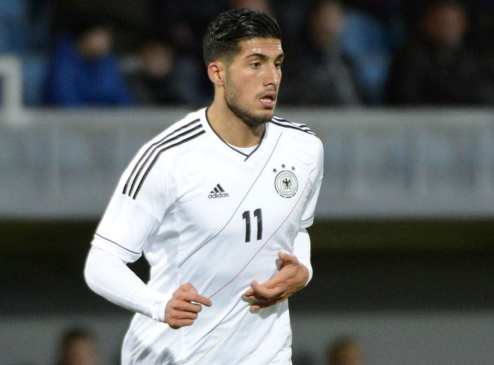 The Germany youth international Emre Can is on his way to Liverpool