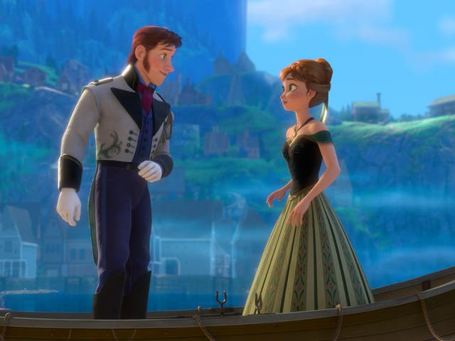 Fairytale accounts: Frozen's faithful Norwegian setting has led many to visit the country