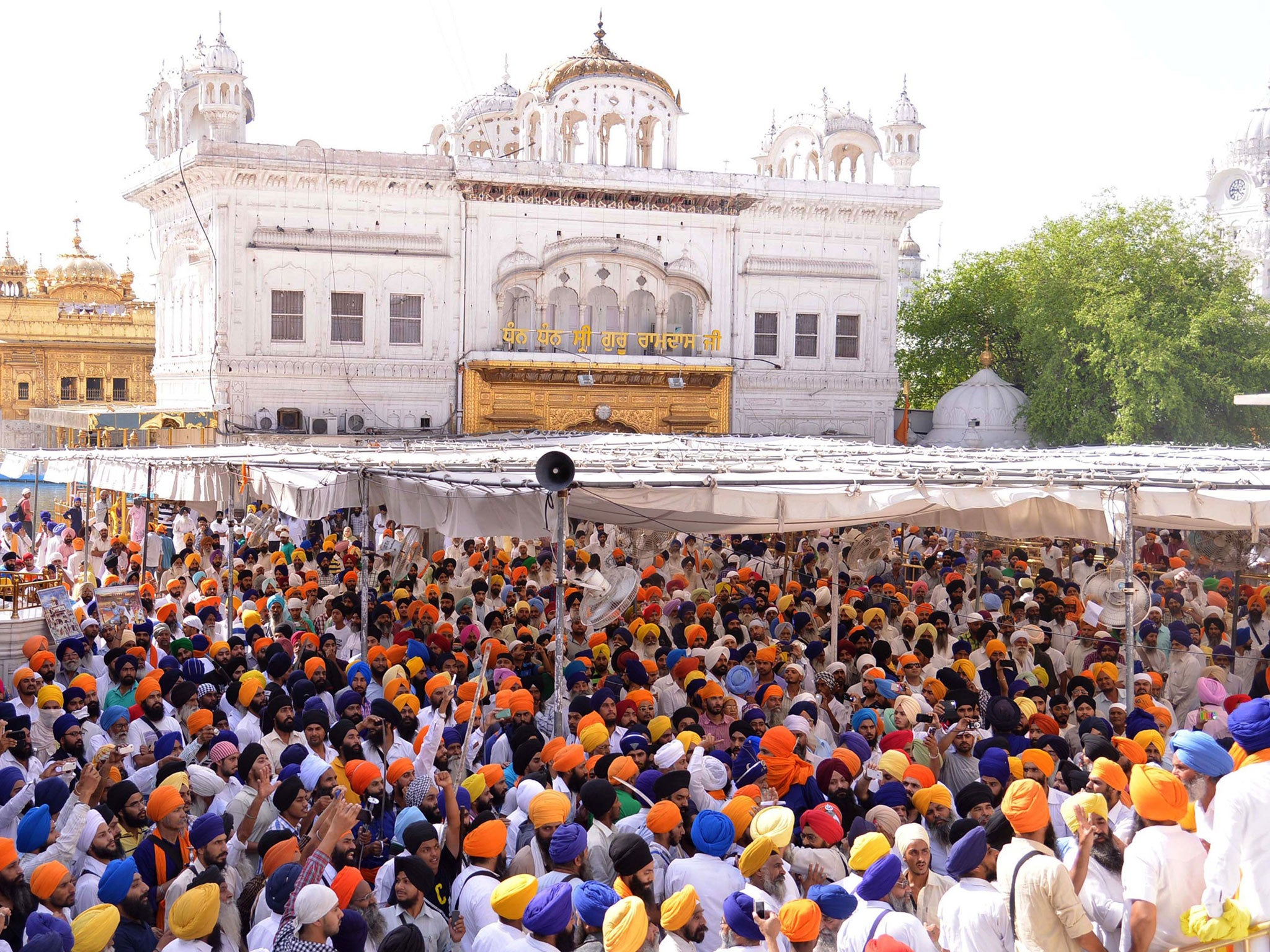 amritsar, home of the golden temple in india, has always been