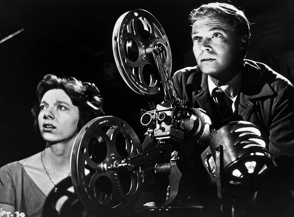 Karlheinz Böhm in 'Peeping Tom' with Anna Massey: the film had a ruinous effect on the career of its director Michael Powell