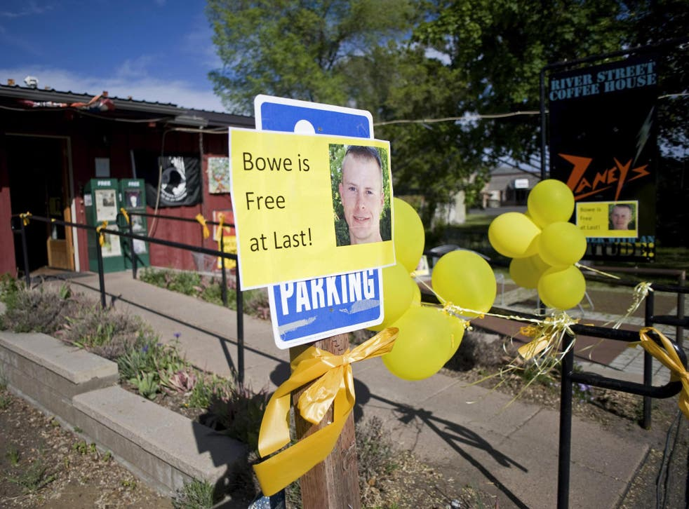 How locals greeted the news of Bowe Bergdahl's release