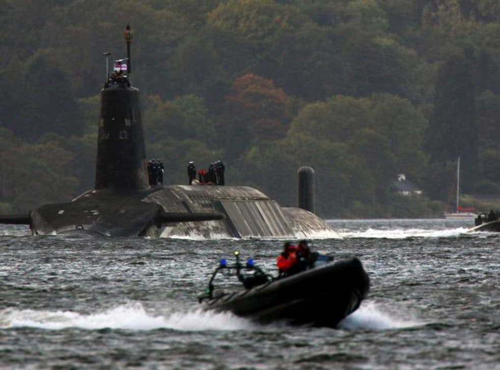Rough waters: More docks would be needed to dismantle Trident subs