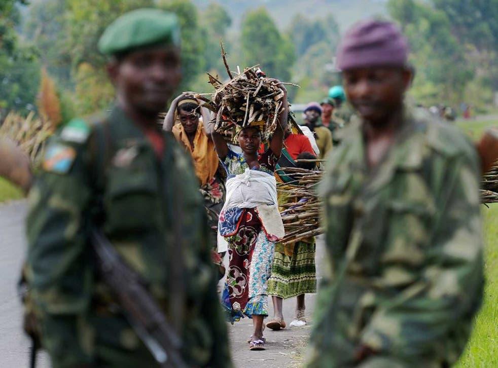 Survivors: Women in North Kivu, a region where sexual abuse is high
