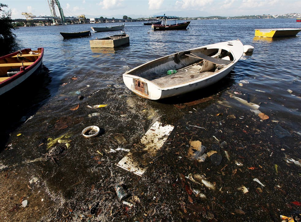 Brazil has said that the events will be held in a less polluted part of the water, outside of the bay or at its entrance. Source: Getty Images