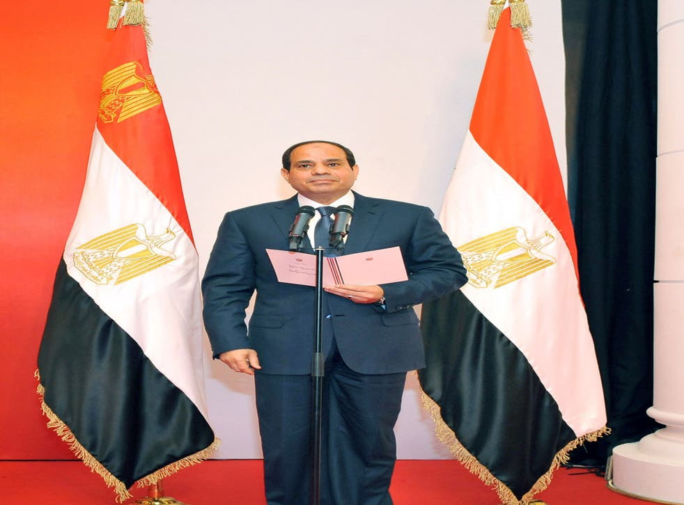 Abdel Fattah al-Sisi, the former head of Egypt's armed forces, has been sworn in as President