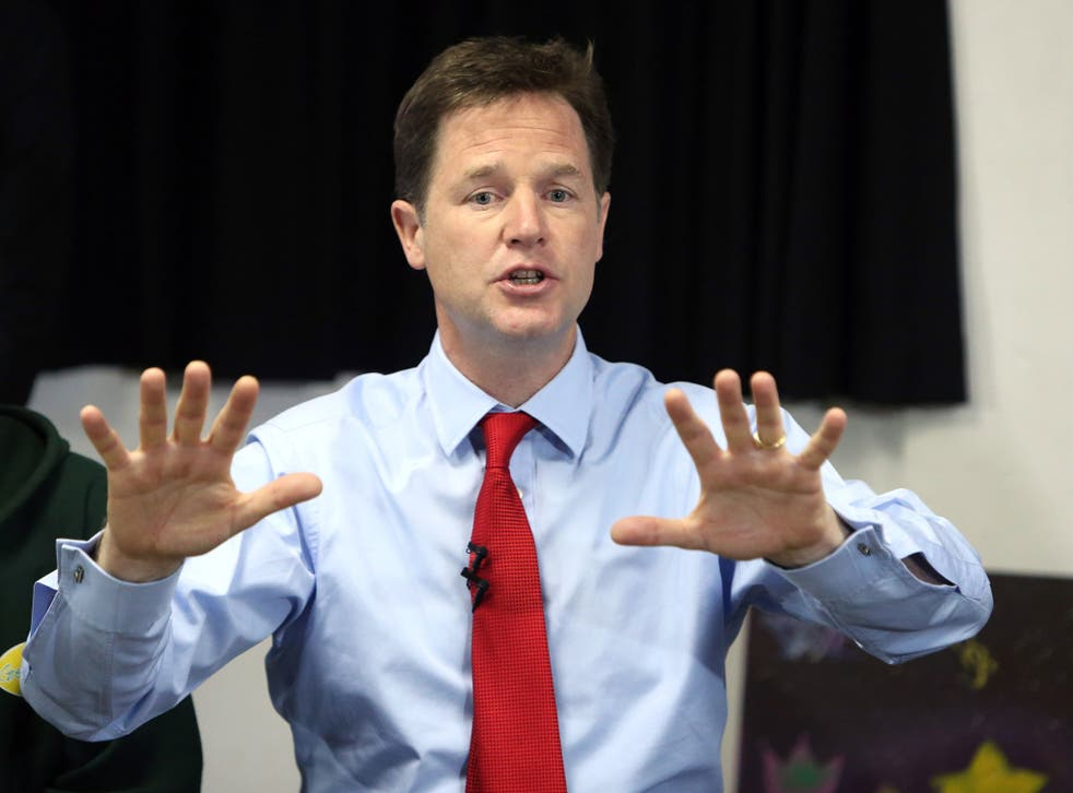 Nick Clegg's attempt to reassert his position with a major speech threatens to be undermined by a call from a senior Liberal Democrat for him to be sacked