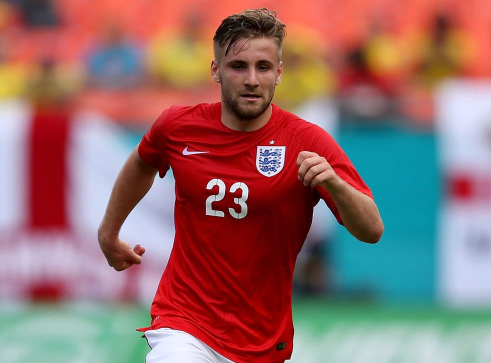 Luke Shaw remains a transfer target for Manchester United