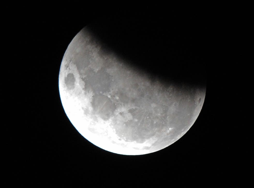 Researchers found the chemical signature within lunar rock samples brought back to earth by the Apollo missions