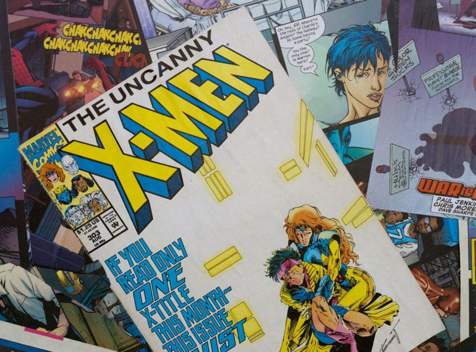 Stranger than fiction: vintage Marvel comics