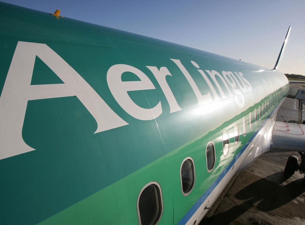 John Kennedy Santos Gurjao suffered a violent seizure and died on the Aer Lingus flight bound for Dublin