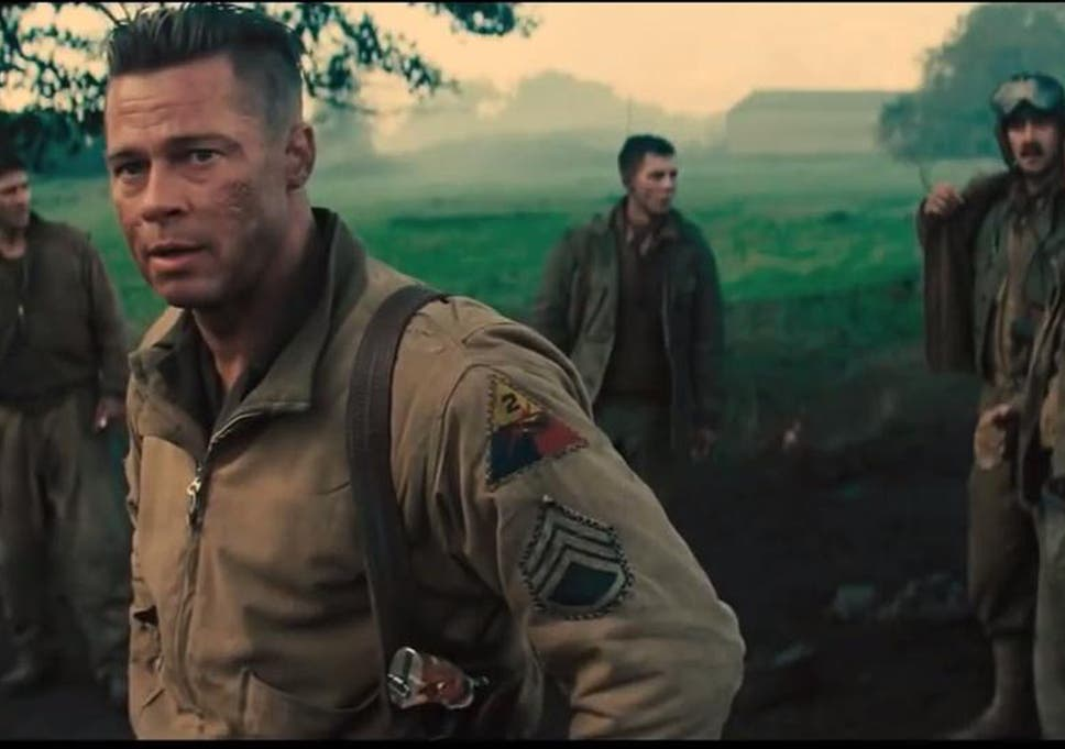 First footage of Fury released starring Brad Pitt, Shia LaBeouf and