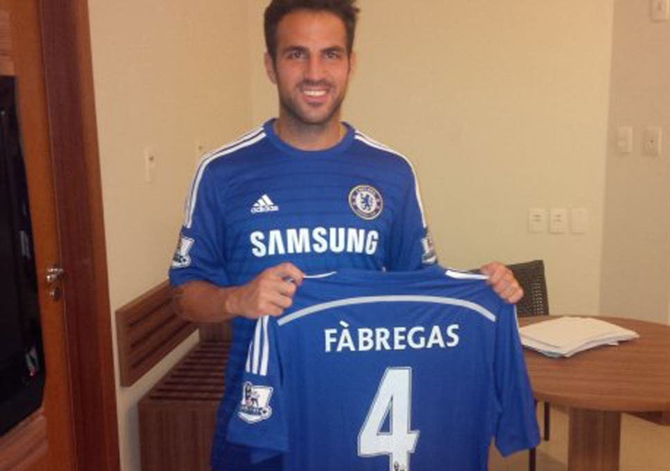 buy online 150cd c9fb9 Cesc Fabregas joins Chelsea: His statement in full | The ...