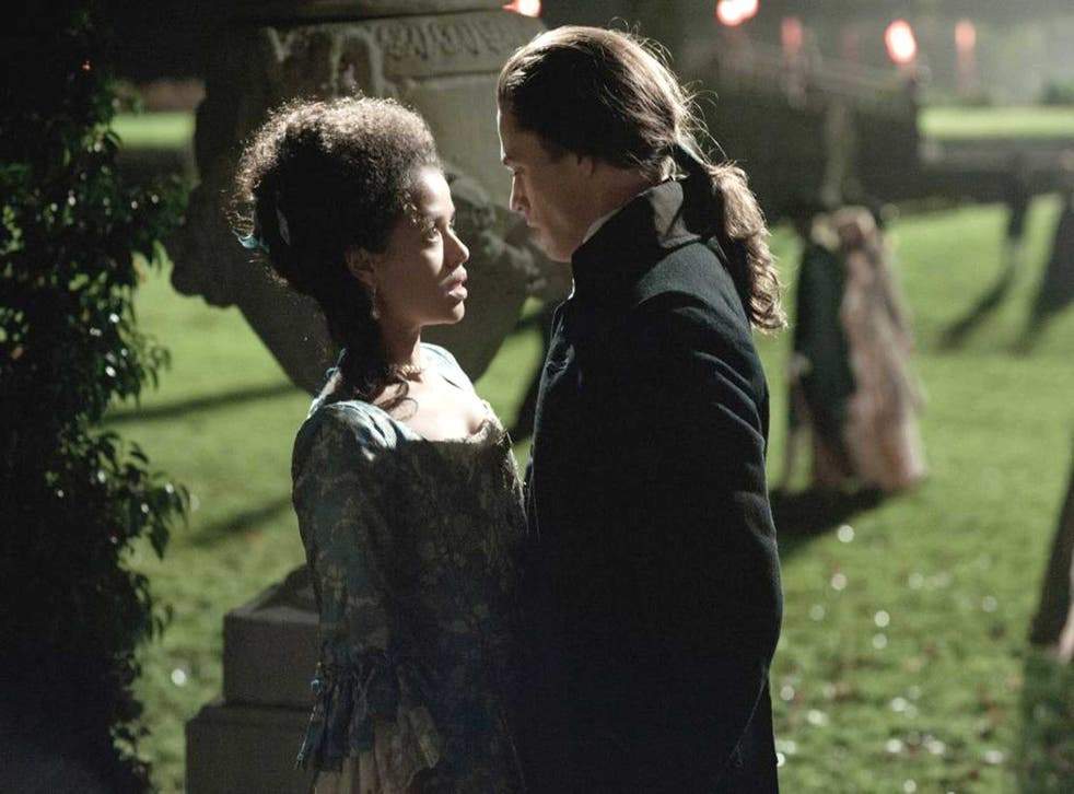 Passion and prejudice: Gugu Mbatha-Raw and Sam Reid in 'Belle'