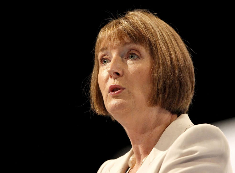 Harriet Harman has compared David Cameron to The Office's undesirable character David Brent