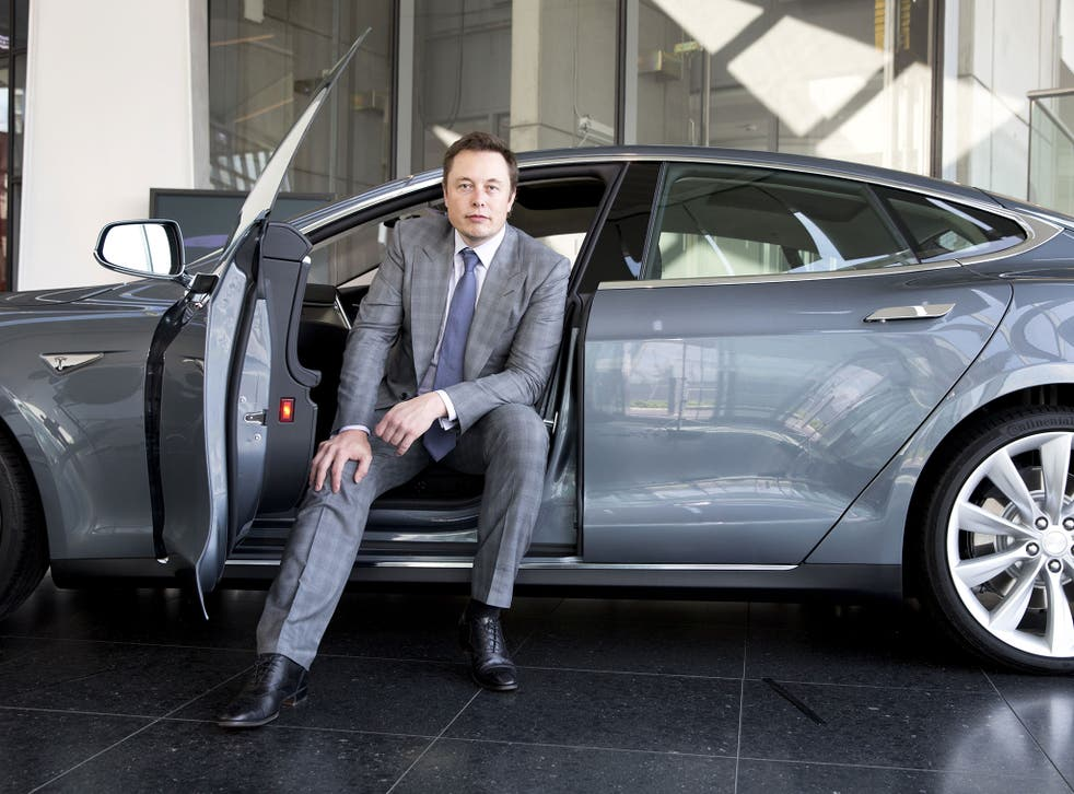 Elon Musk, the chief executive of Tesla Motors, at the launch of the Model S electric sports car in the UK last week