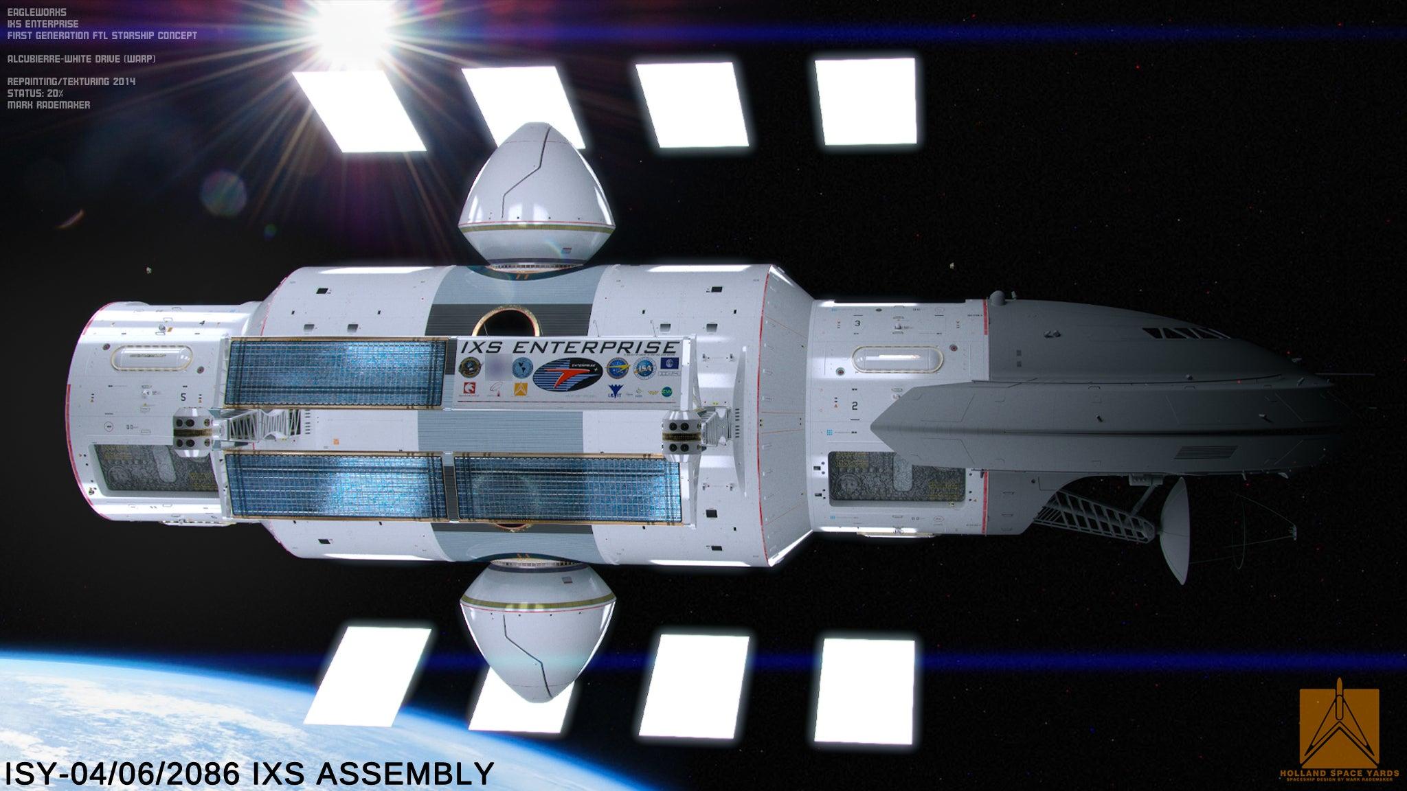 فضاپیما با سرعت نور