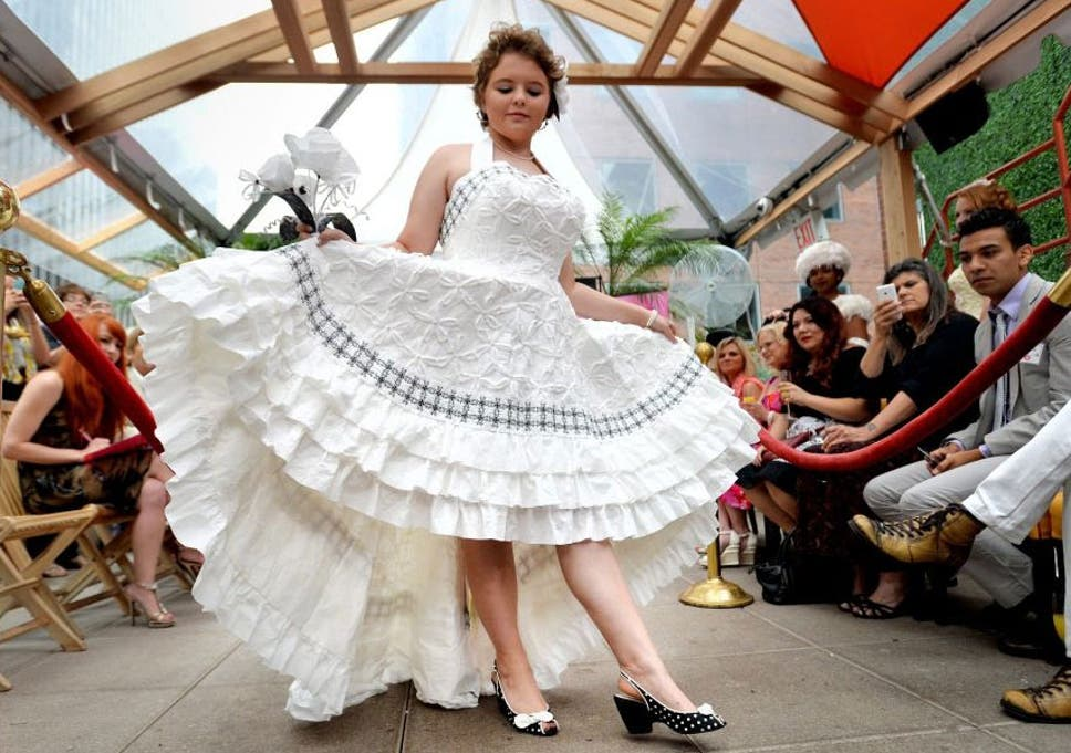 Annual Toilet Paper Wedding Dress Contest In Pictures Winner