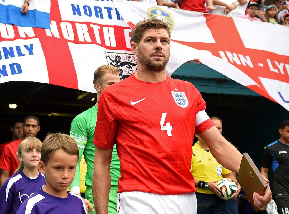 Steven Gerrard is urging his team to be attacking in their World Cup opener against Italy tonight