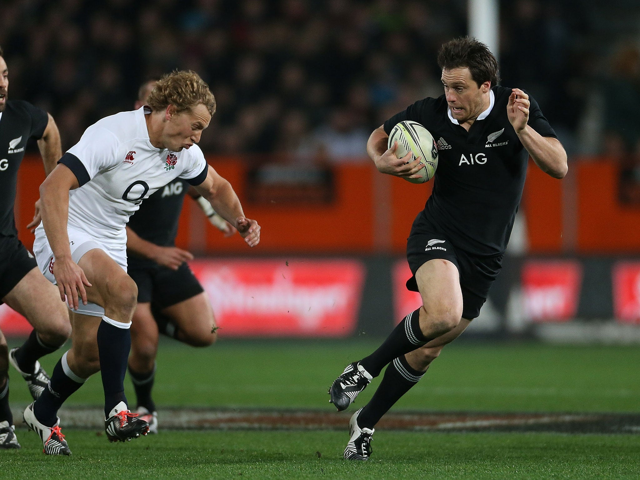 New Zealand 28 England 27: All Blacks' masterful success is a matter