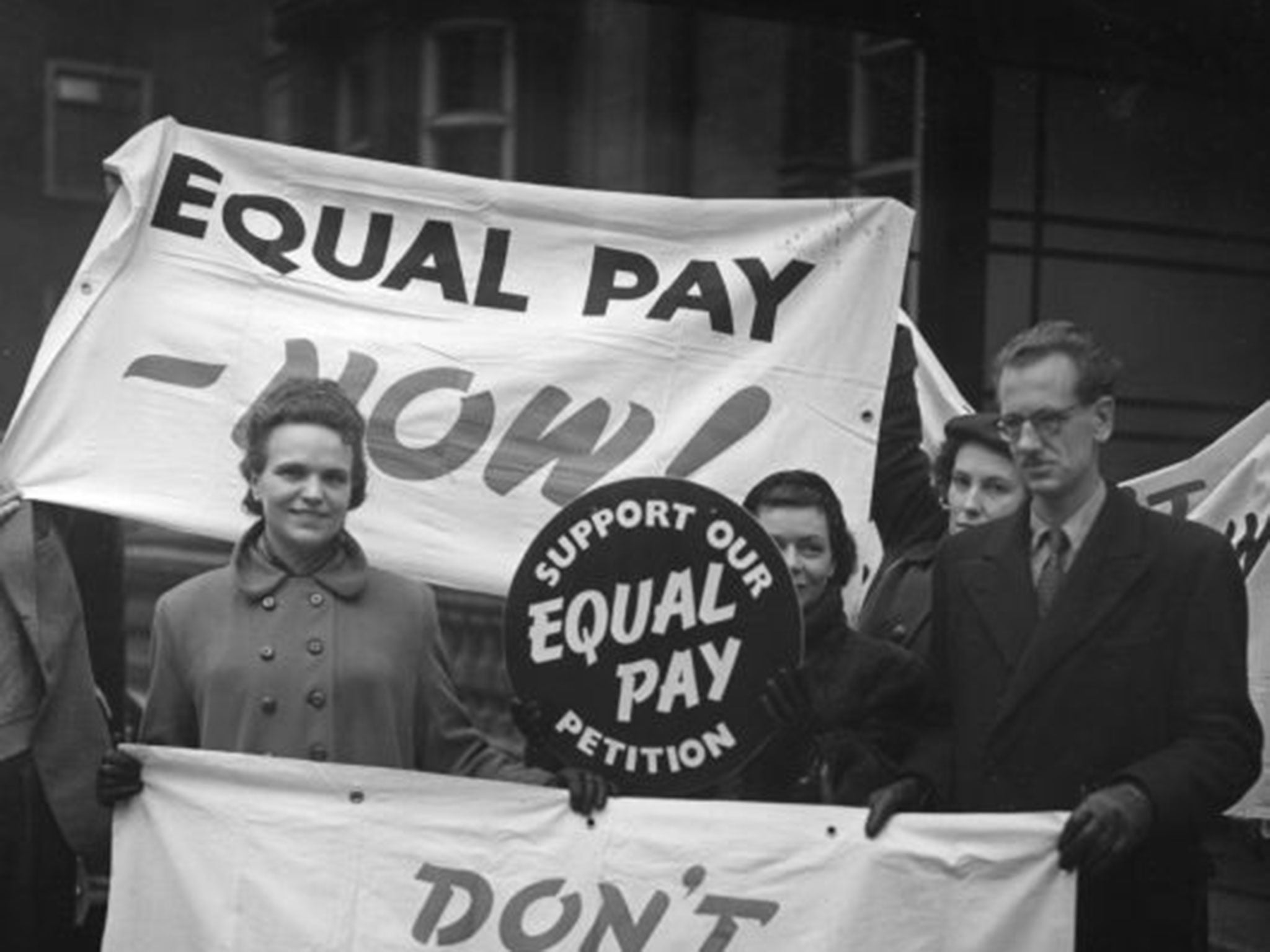 equal pay act The equal pay act of 1963 was a law amending the fair labor standards act  it was signed into law on june 10, 1963 by john f kennedy as part of his new frontier program.