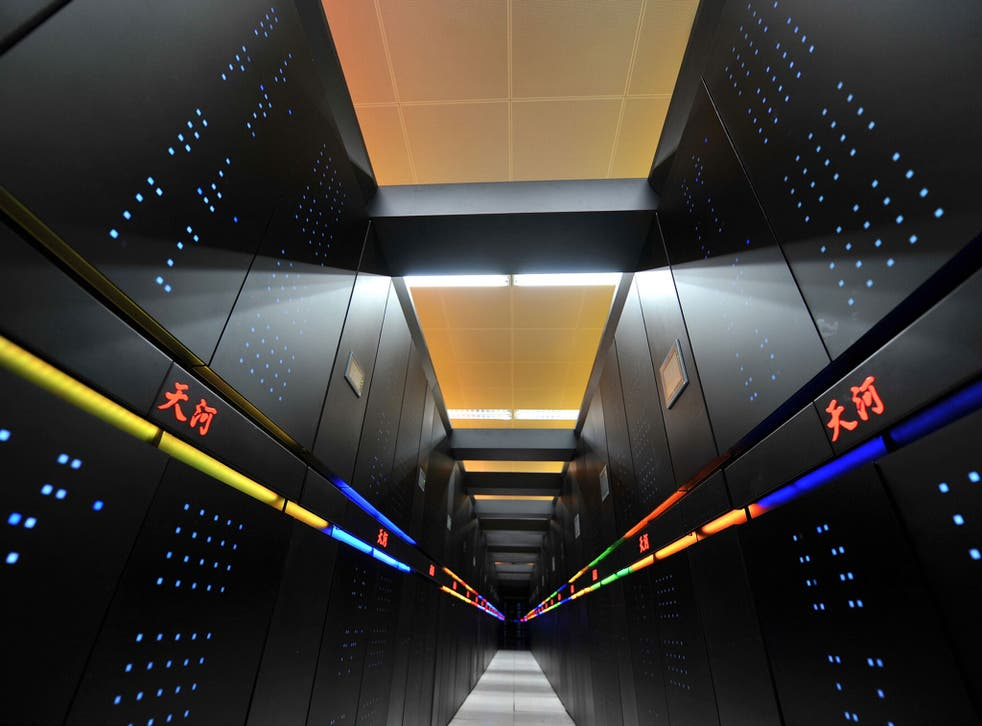 A supercomputer that can make more than one million billion calculations asecond