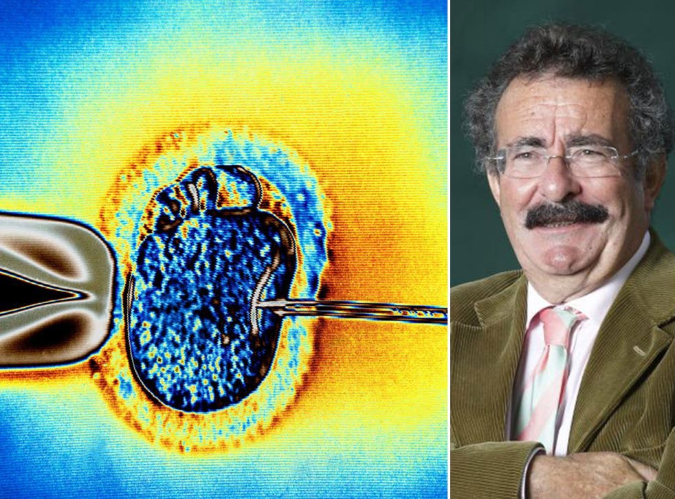 Lord Winston claims private clinics are selling ineffective IVF treatment to desperate patients