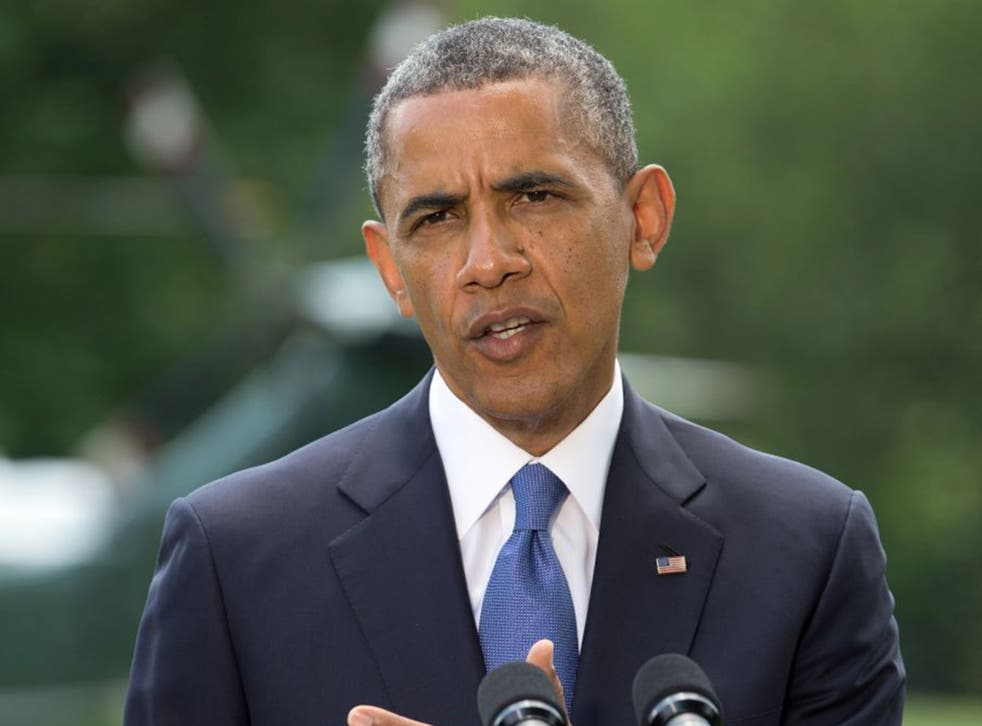President Obama: On the verge of ordering military action in Iraq