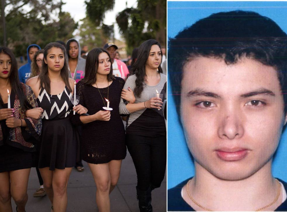 British born Elliot Rodger, right, murdered six students during a stabbing and shooting spree
