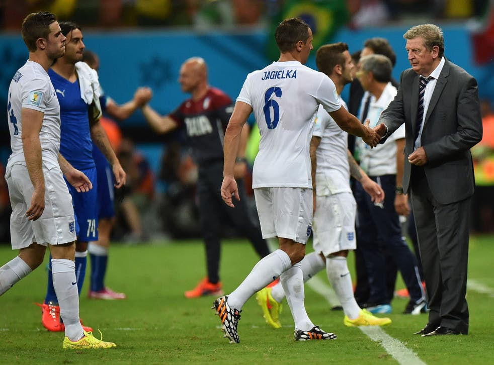 England boss Roy Hodgson says England's fate is still in their own hands despite 2-1 defeat to Italy