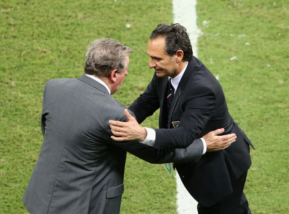 Cesare Prandelli has called England one of the best sides at the World Cup after his Italy team beat them 2-1 in Manuas