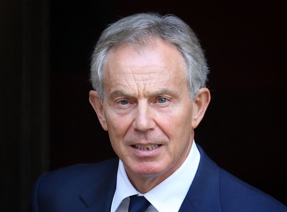 """Blair says the idea that sending troops to Iraq led directly to the current situation in the country is """"bizarre"""""""