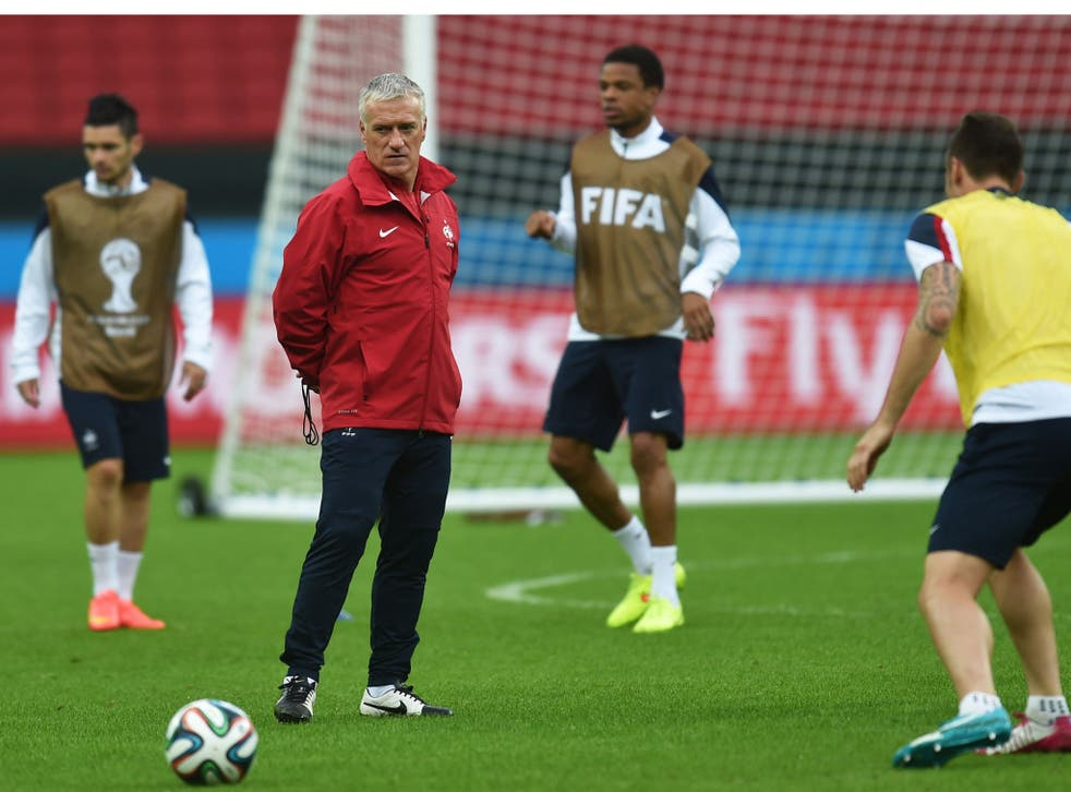 Didier Deschamps faces Honduras tonight hoping for harmony in his French squad