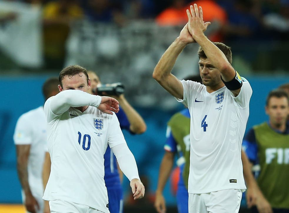 """Steven Gerrard says England can be """"proud"""" of their performance despite 2-1 defeat to Italy"""