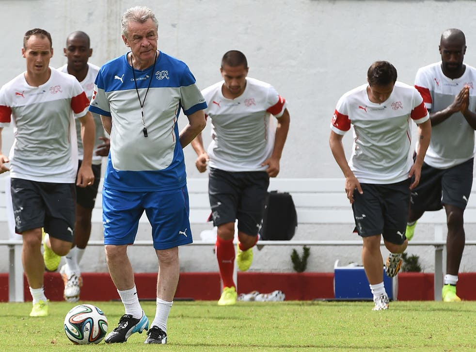 Ottmar Hitzfeld's Switzerland face Ecuador in their World Cup opener