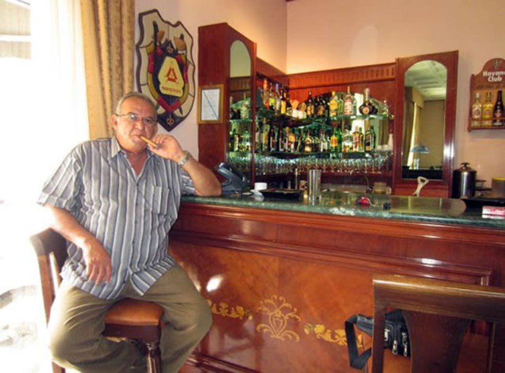 Mons in 2013: he was hailed by cigar smokers round the world for his Casa del Habano