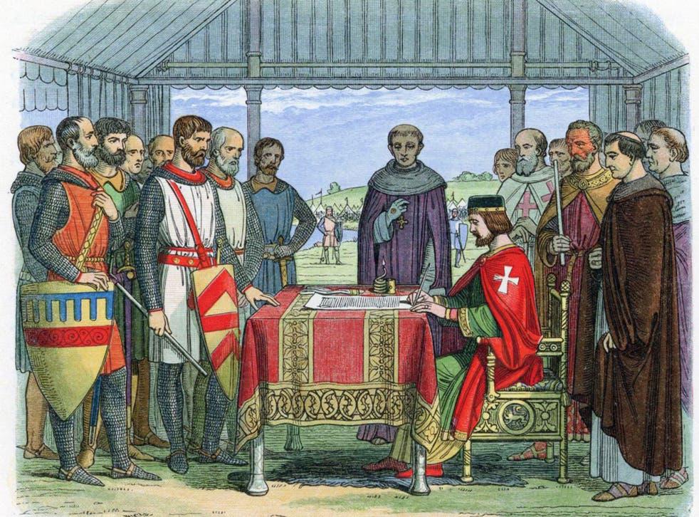 King John, former King of England