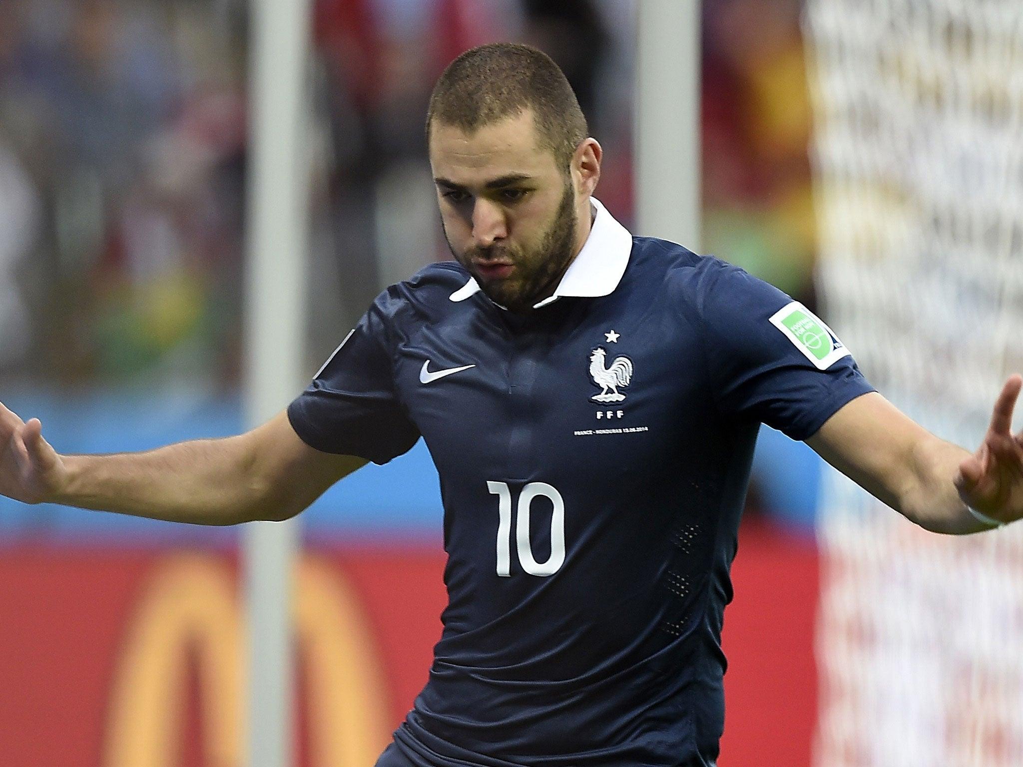 40d49fbef5e France 3 Honduras 0 match report  Karim Benzema scores twice as France  overcome 10-man Honduras