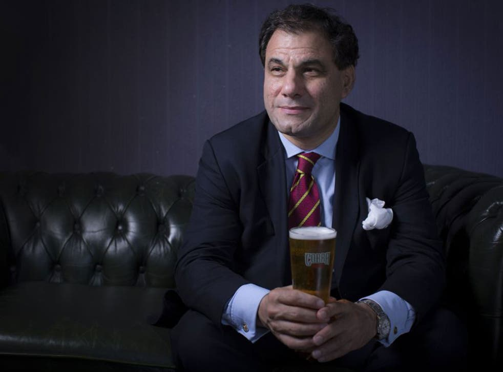 Lord Bilimoria had the idea for a beer that went well with curry when he was a student at Cambridge