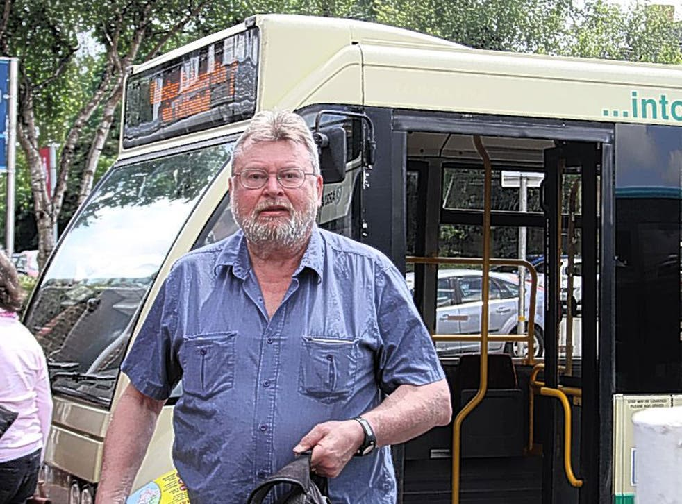 Now where's a pub with the match on? Intrepid Dave Hadfield gets off the bus