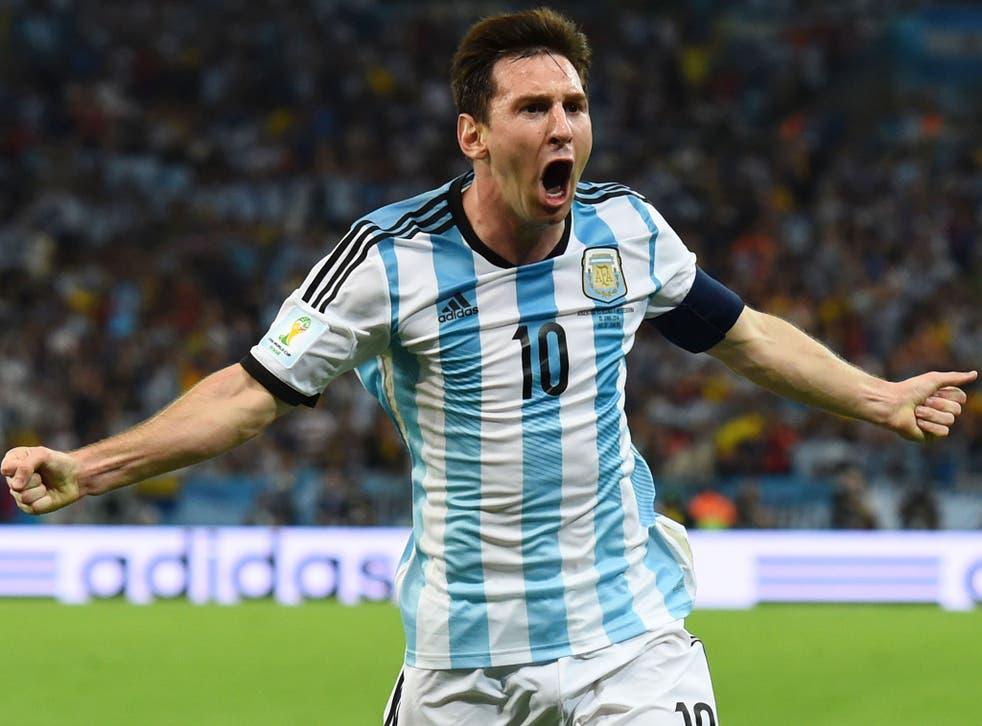 Lionel Messi spoke of his 'big relief' after scoring a superb goal for Argentina against Bosnia-Herzegovina