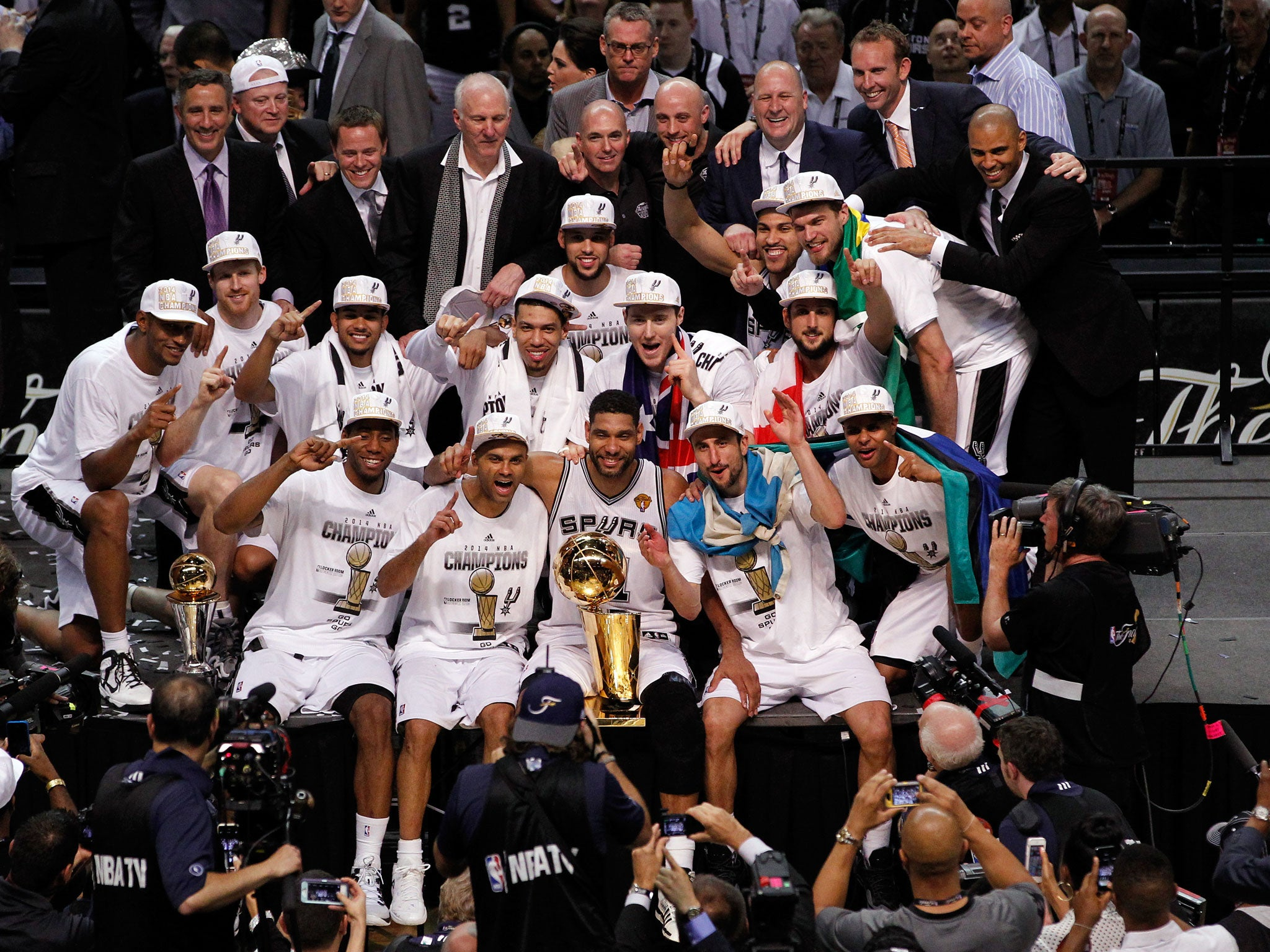 NBA Finals: San Antonio Spurs beat Miami Heat to win fifth ...