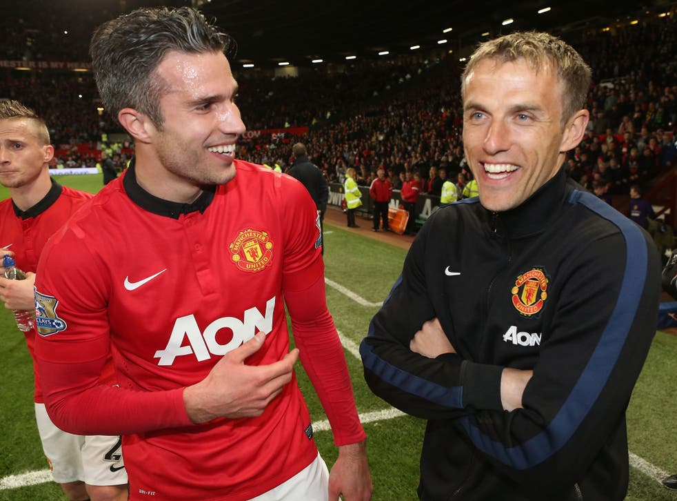 Phil Neville has laughed off the criticism he drew from his commentary for the BBC