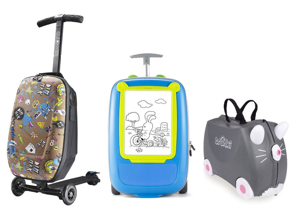 497ac49480b4 Don t be left carrying the kids  bags this summer  invest in a suitcase  designed for younger travellers