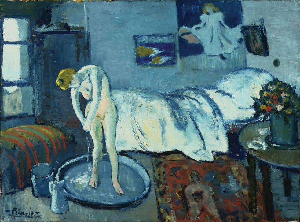 There is more to Pablo Picasso's 'The Blue Room' than first meets the eye