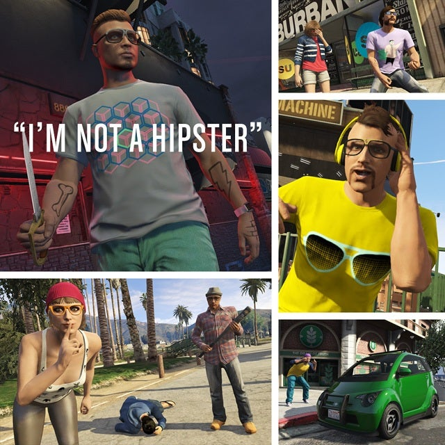 GTA 5 Online gets 'I'm Not A Hipster' update with vintage