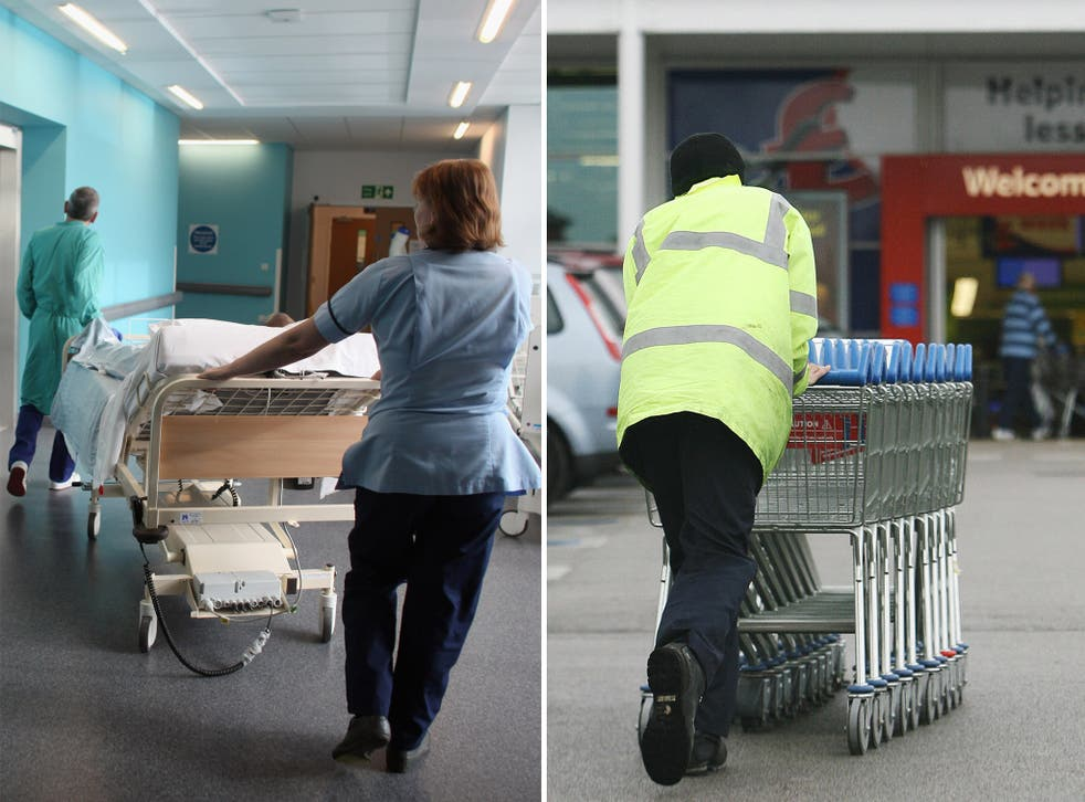 The think tank suggested the NHS should learn from supermarket chains such as Tesco