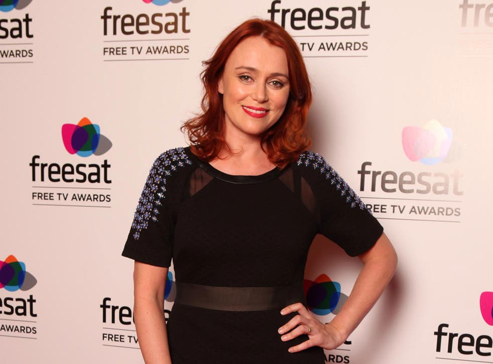 Actress Keely Hawes will be starring in an episode of 'Doctor Who' later this year